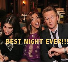 robin, lily and barney (best night ever)  by michaelcera
