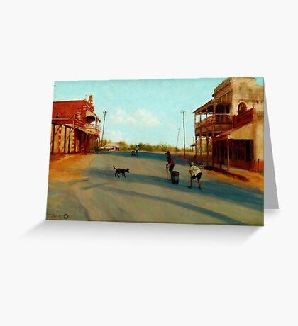 Ravenswood Cricket Greeting Card