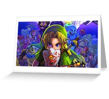Legend of Zelda let the Journey Begin Greeting Card