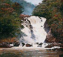 Waterfall at Votorantim by coalhada
