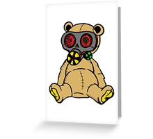 Stuffed Mask Greeting Card