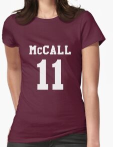 Mccall 11 Scot mccall Beacon Hills lacrosse - White ink T-Shirt