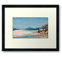 Guarujá Seascape  Framed Print