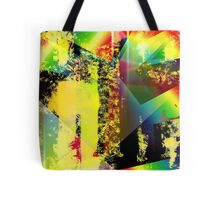 Abstract Colour Design [Digital Abstract Illustration] Tote Bag