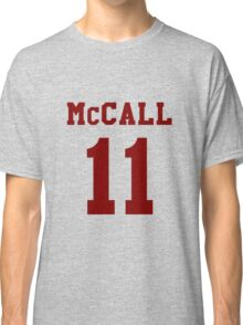 Mccall 11 Scot mccall Beacon Hills lacrosse - maroon ink Classic T-Shirt