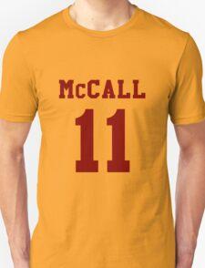 Mccall 11 Scot mccall Beacon Hills lacrosse - maroon ink Unisex T-Shirt