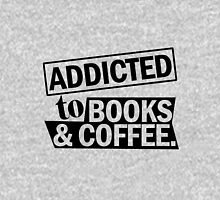 Addicted to Books & Coffee Unisex T-Shirt