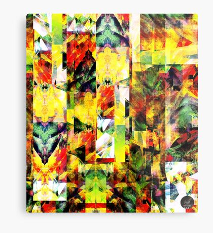 Abstract Patterns [Digital Illustration] Metal Print