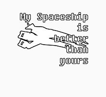 Normandy Mass Effect - My Spaceship is Better than yours Unisex T-Shirt