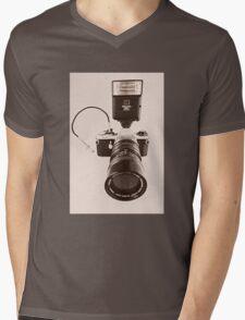 Pentax ME  Mens V-Neck T-Shirt