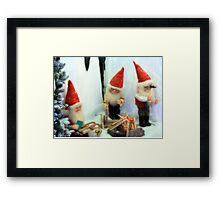 Elf sufficient Framed Print