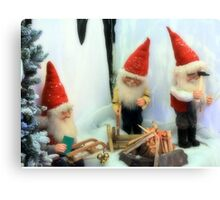 Elf sufficient Canvas Print