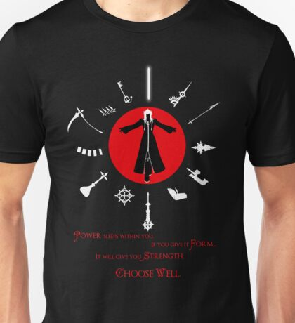 Kingdom Hearts Organization 13, Choose Well Unisex T-Shirt