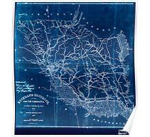 Civil War Maps 1523 Richland District South Carolina Inverted Poster