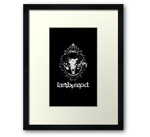 The God Framed Print