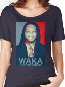 Waka flocka flame for president  (high quality) Women's Relaxed Fit T-Shirt