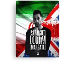 Mic Righteous Straight outta Margate/Britain/Iran Canvas Print