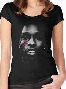 A$AP Rocky - At  Long Last A$AP Women's Fitted Scoop T-Shirt