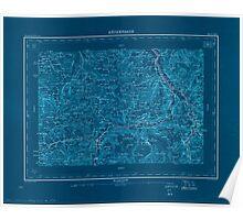 Civil War Maps 1554 Röthenbach Inverted Poster