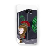 Waiting for a mad girl with red hair Samsung Galaxy Case/Skin