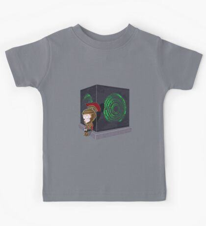Waiting for a mad girl with red hair Kids Tee