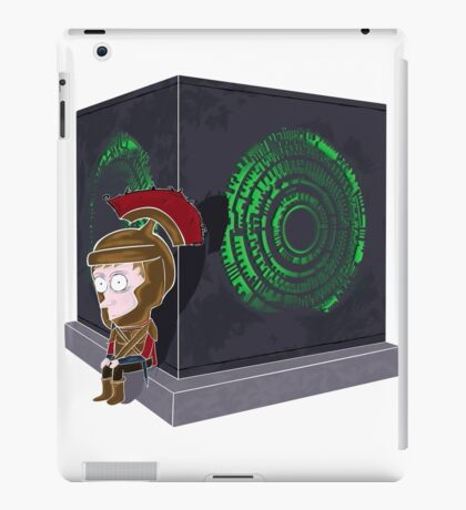 Waiting for a mad girl with red hair iPad Case/Skin