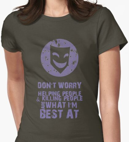 What I'm Best At Womens Fitted T-Shirt