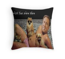 Nick Cage Pillowcase Throw Pillow