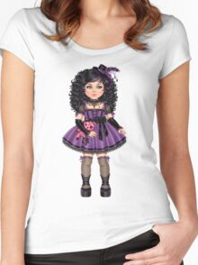 Little Goth Women's Fitted Scoop T-Shirt