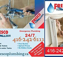 Oakville Plumbing Specialist - Fully Licensed and Insured by Presco Plumbing