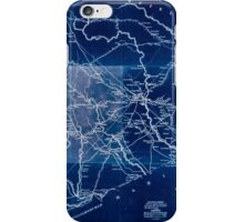 Civil War Maps 0339 Darlington District South Carolina improved for Mills' Atlas 1820 enga by H S Tanner assistants Inverted iPhone Case/Skin