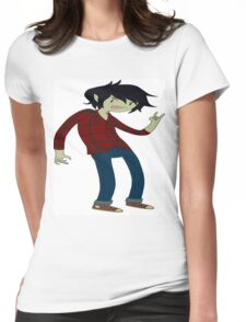 Marshall Lee - AdventureTime! Womens Fitted T-Shirt