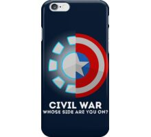 Whose Side Are You On? iPhone Case/Skin