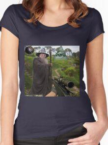 CS: Gandalf Women's Fitted Scoop T-Shirt