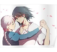 Howl and Sophia - Howl's Moving Castle Poster