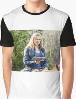 The 100 - Clarke Griffin Horse Riding Graphic T-Shirt