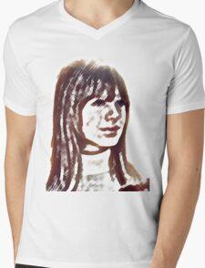 Marianne Faithfull Mens V-Neck T-Shirt