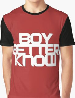 Boy Better Know T-Shirt Graphic T-Shirt
