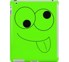 Goofy Face with tongue iPad Case/Skin