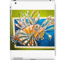 Lionfish comic iPad Case/Skin