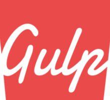 Gulp Sticker