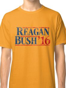 Distressed Reagan - Bush '16 Classic T-Shirt
