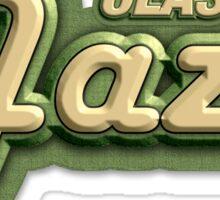 Old Classic Jazz Sticker