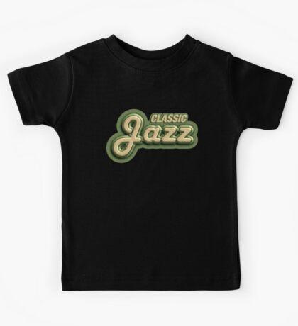 Old Classic Jazz Kids Tee