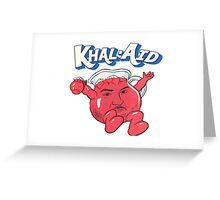 Dj Khaled - Khal-Aid Greeting Card