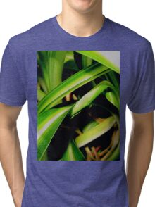 Close up jungle Tri-blend T-Shirt