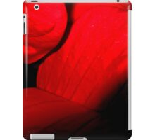 Romantic red leaves iPad Case/Skin