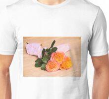 Country Time Orange Roses Unisex T-Shirt