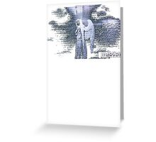 Don't Blink - Weeping Angel Greeting Card