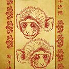 Chinese New Year Year Of The Monkey by Moonlake